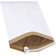 White Self-Seal Padded Mailers (25 Pack)